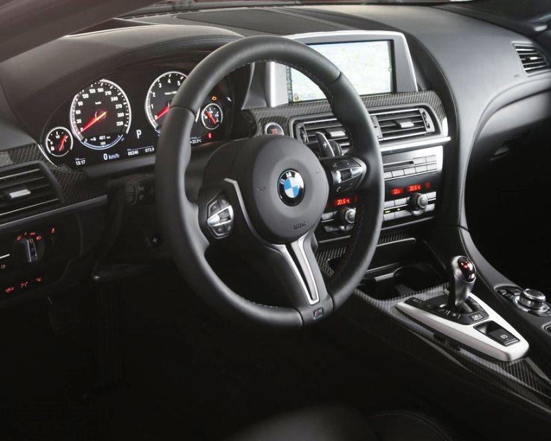 салон BMW M5 2014