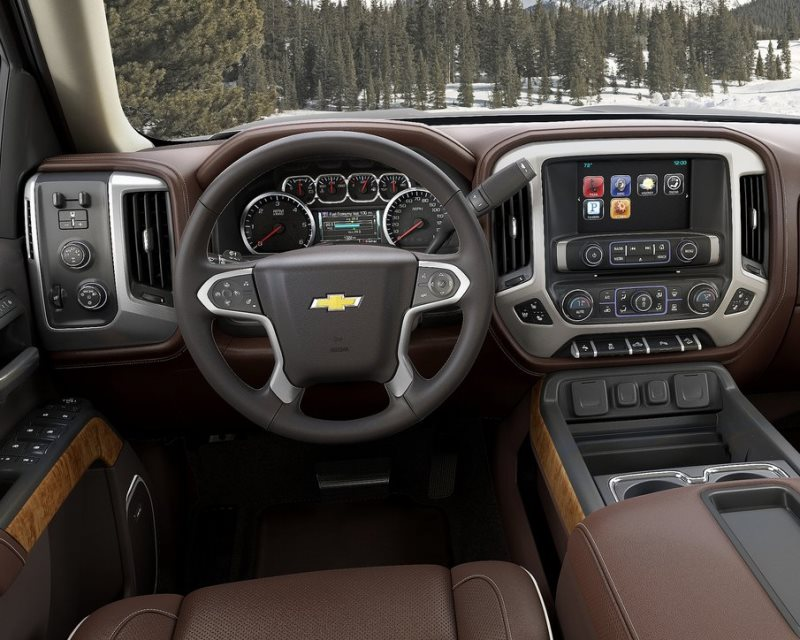 салон Chevrolet Silverado High Country 2014