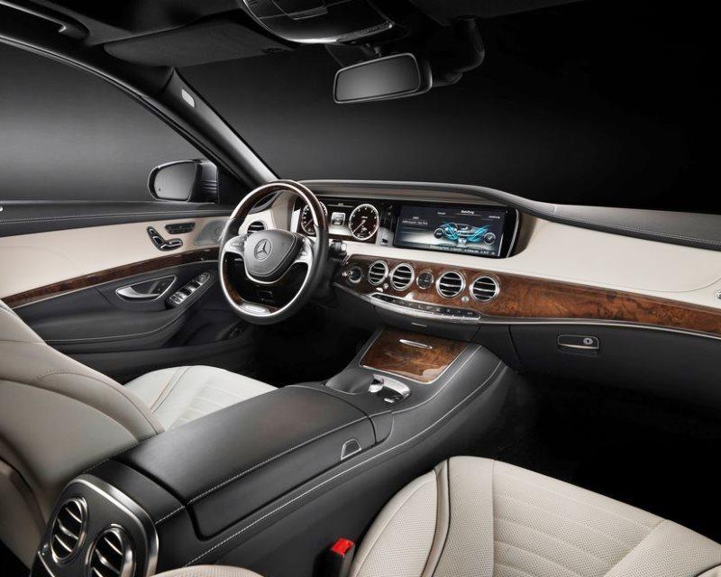 салон Mercedes S-Class 2014
