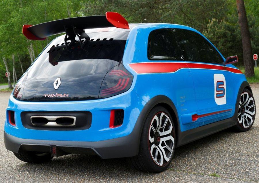 спойлер Renault Twin-Run Concept 2013