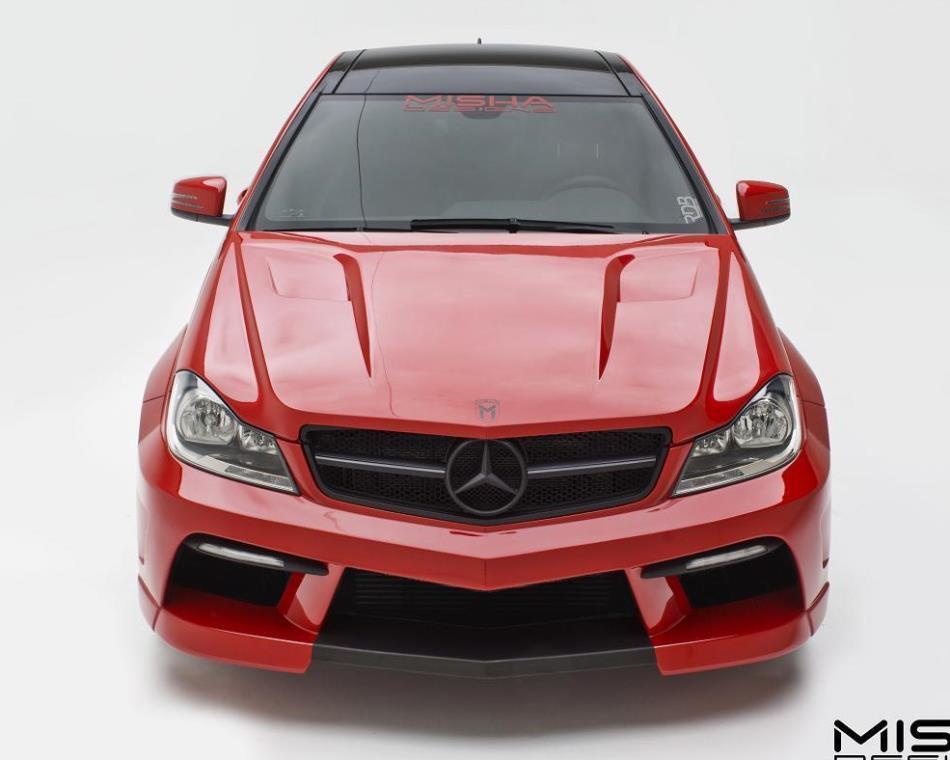 Mercedes C-Class в новом обвесе Misha Designs