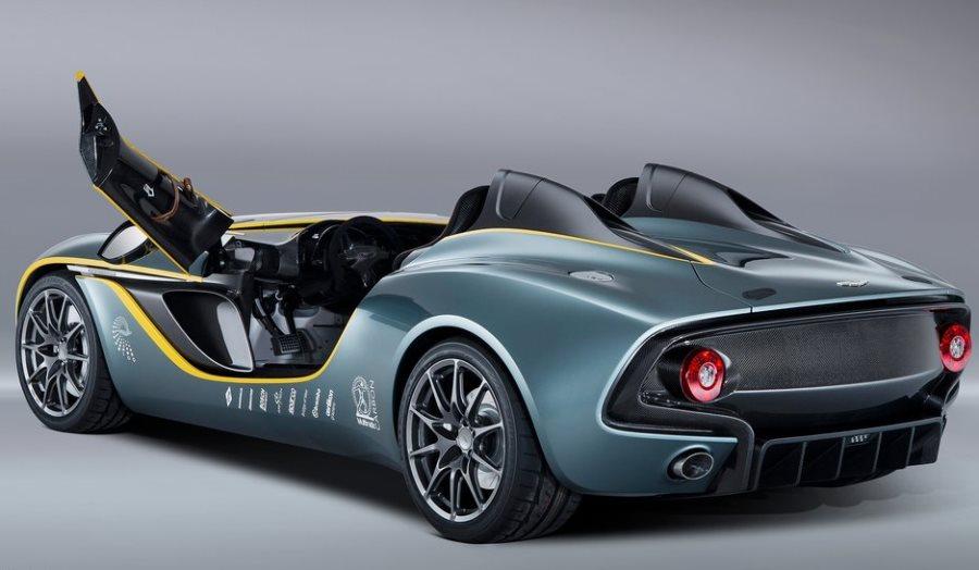 задняя часть Aston Martin CC100 Speedster Concept 2013