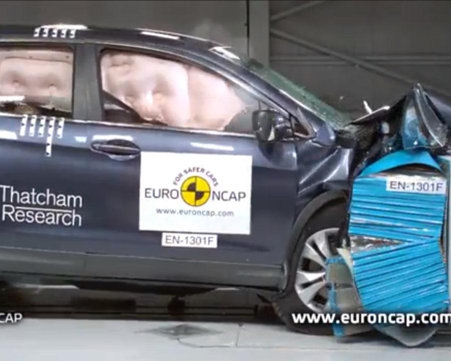 Краш-тест Honda CR-V 2013