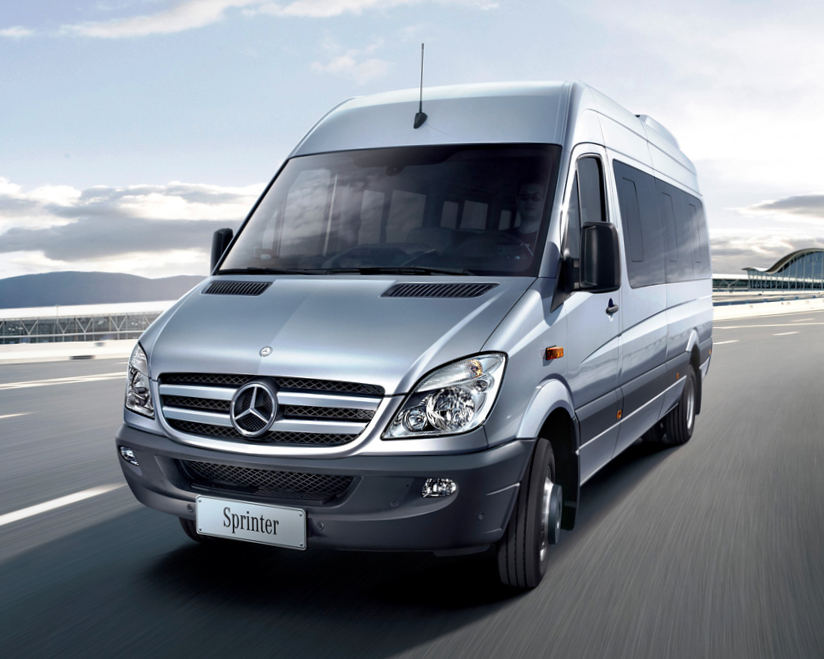 Mercedes Sprinter Tourist 2013