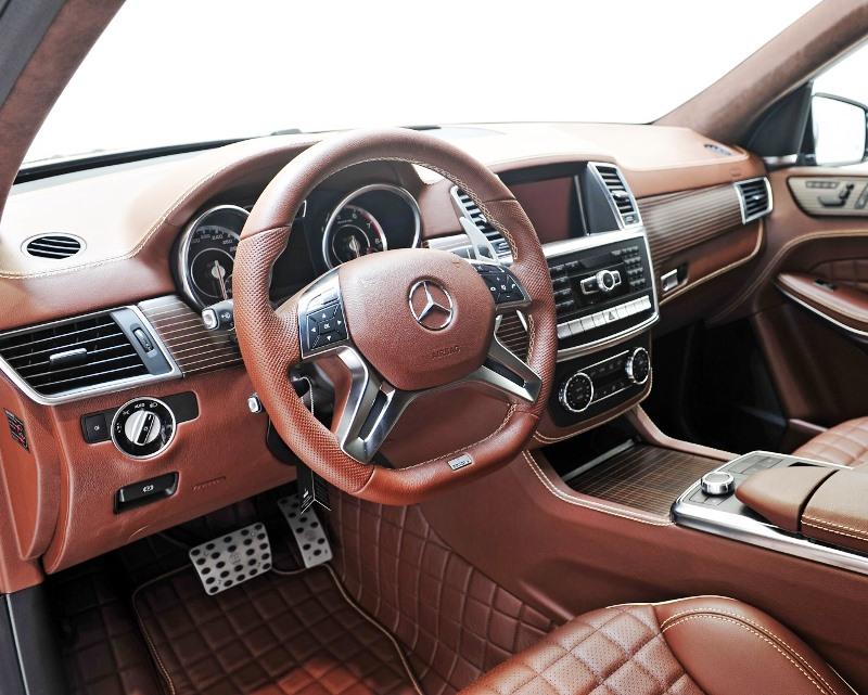 Салон Mercedes GL 63 AMG от Brabus