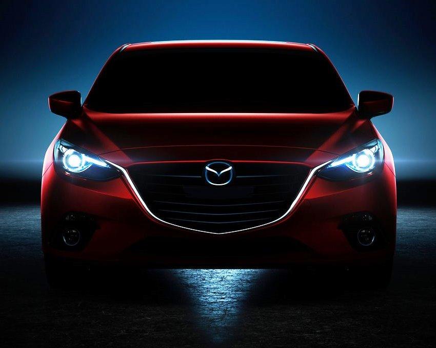 фары Mazda 3 2014