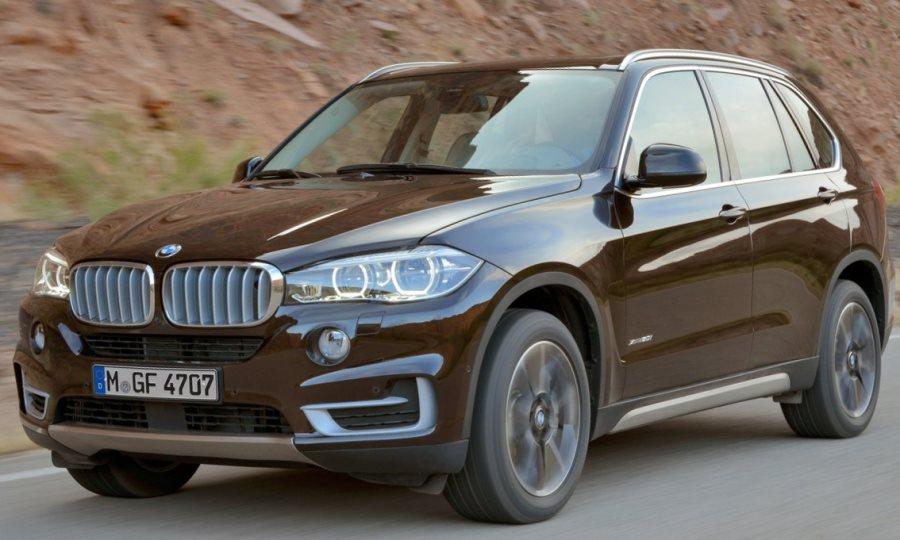 фары и бампер BMW X5 2014