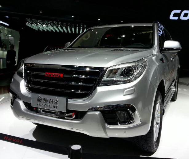 фары  и бампер Great Wall Haval H9 2015