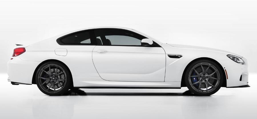 фото BMW M6 Coupe Vorsteiner сбоку