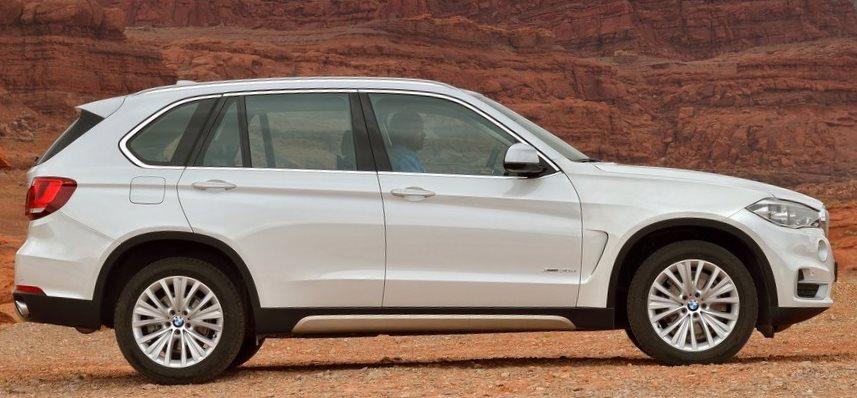 фото BMW X5 2014 сбоку