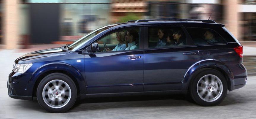 фото Fiat Freemont 2013 сбоку