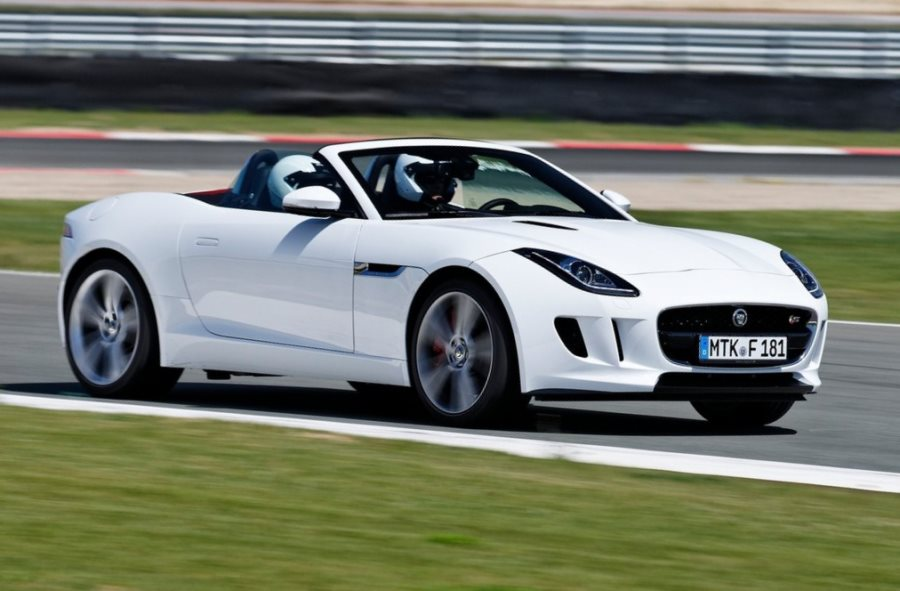 фото Jaguar F-Type 2014 сбоку