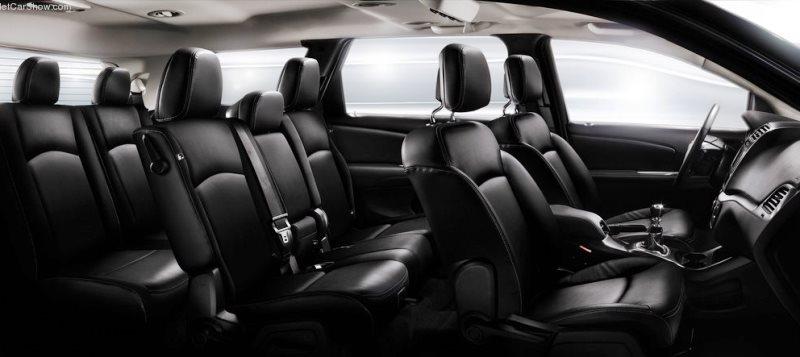 интерьер Fiat Freemont 2013