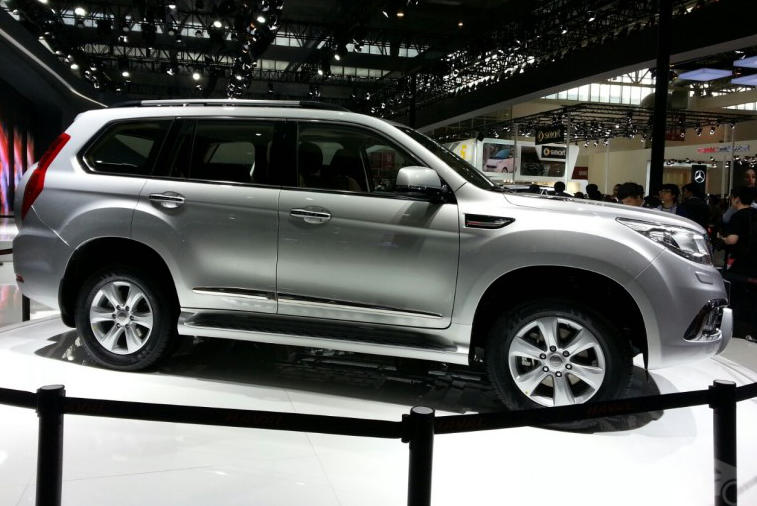 новый Great Wall Haval H9 сбоку