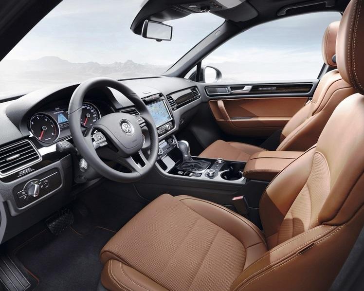 салон Volkswagen Touareg Edition X
