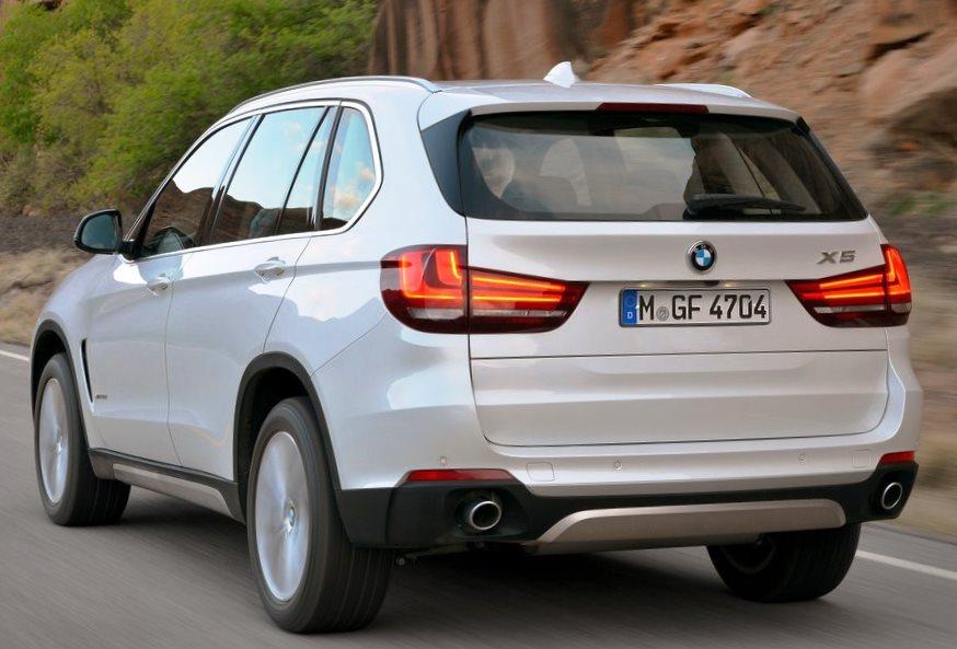 задние фонари BMW X5 2014