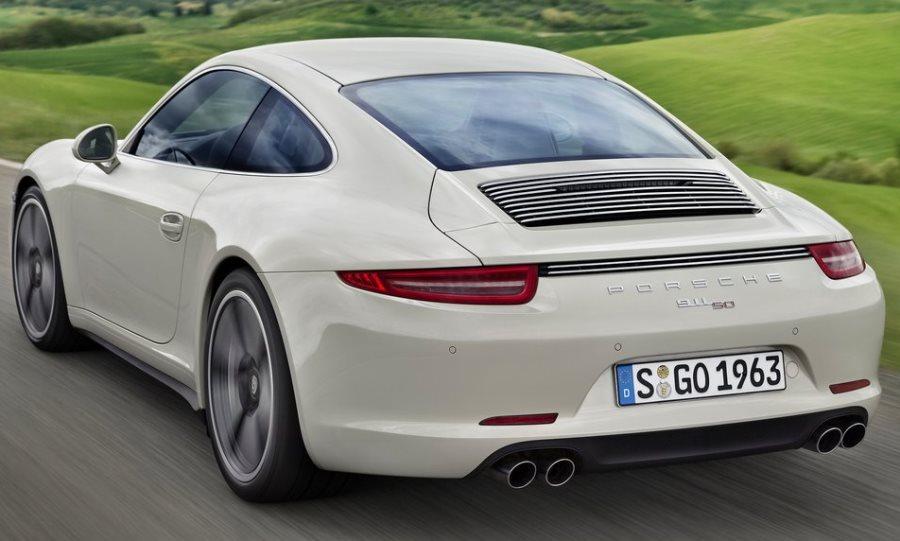 задние фонари Porsche 911 50 Years Edition 2013