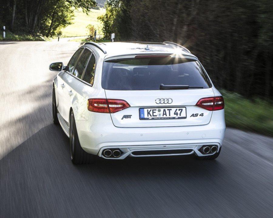 задняя часть Audi A4 2013 от ABT Sportsline