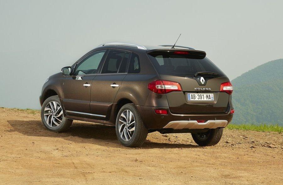 задняя часть Renault Koleos 2014