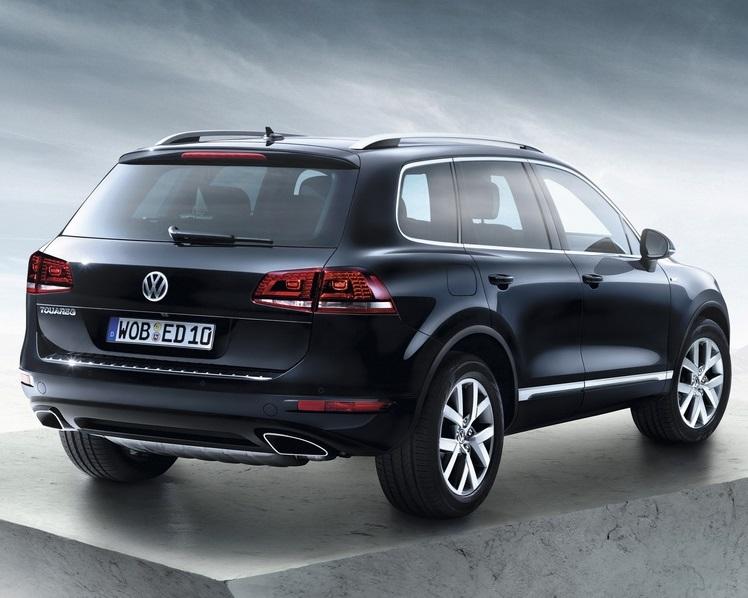 задняя часть Volkswagen Touareg Edition X