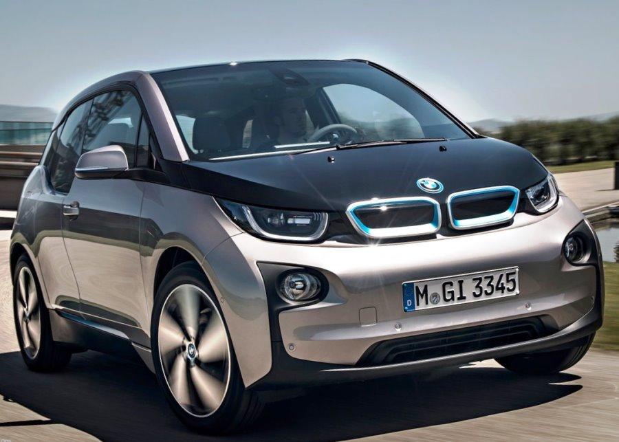 Фото BMW i3 2014 года