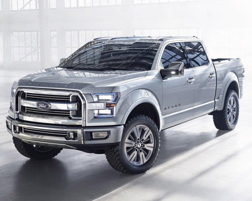 Ford Atlas - лучший концепт пикапа 2013