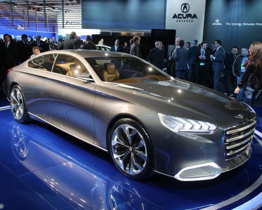 Hyundai HCD-14 Genesis - лучший концепт 2013 года
