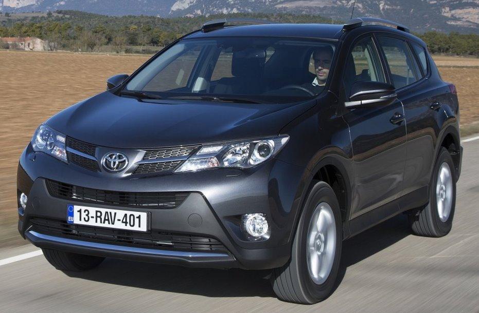 Toyota RAV4 2013 тест-драйв