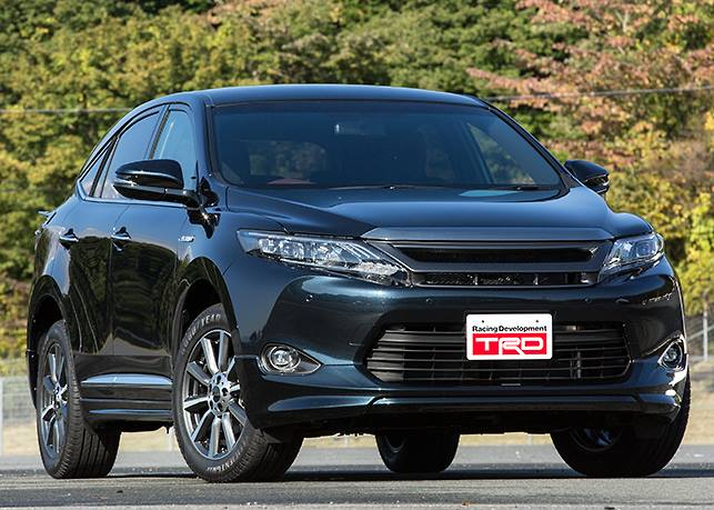 Тюнинг Toyota Harrier 2014 от TRD