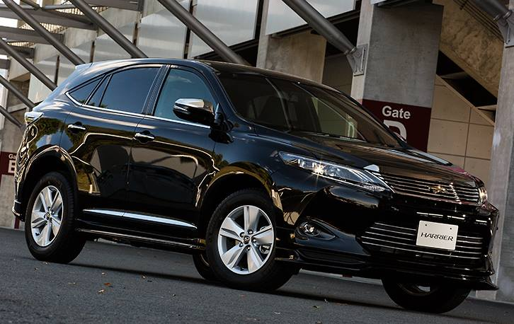 Тюнинг бампер Toyota Harrier 2014