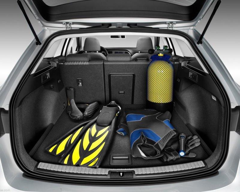 багажник Seat Leon ST 2014