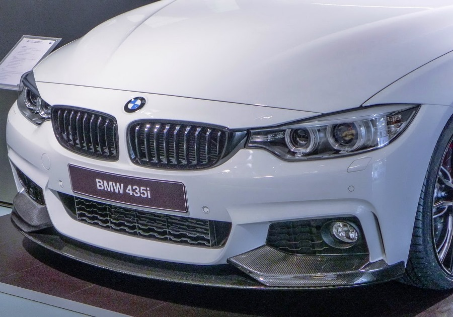 бампер BMW 4-Series 2014 M-Performance