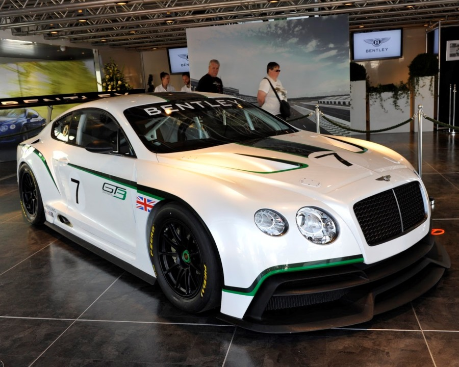 бампер и фары Bentley Continental GT3 Racecar 2014