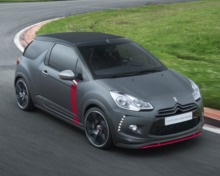 фары и бампер Citroen DS3 Cabrio Racing Concept 2013
