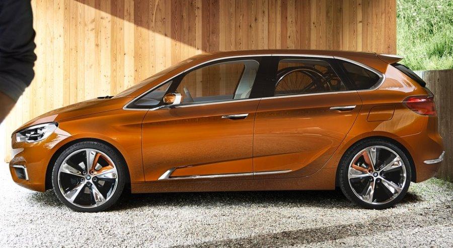 фото BMW Active Tourer Outdoor Concept 2013 сбоку