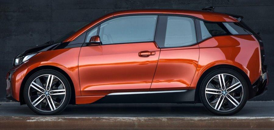 фото BMW i3 сбоку