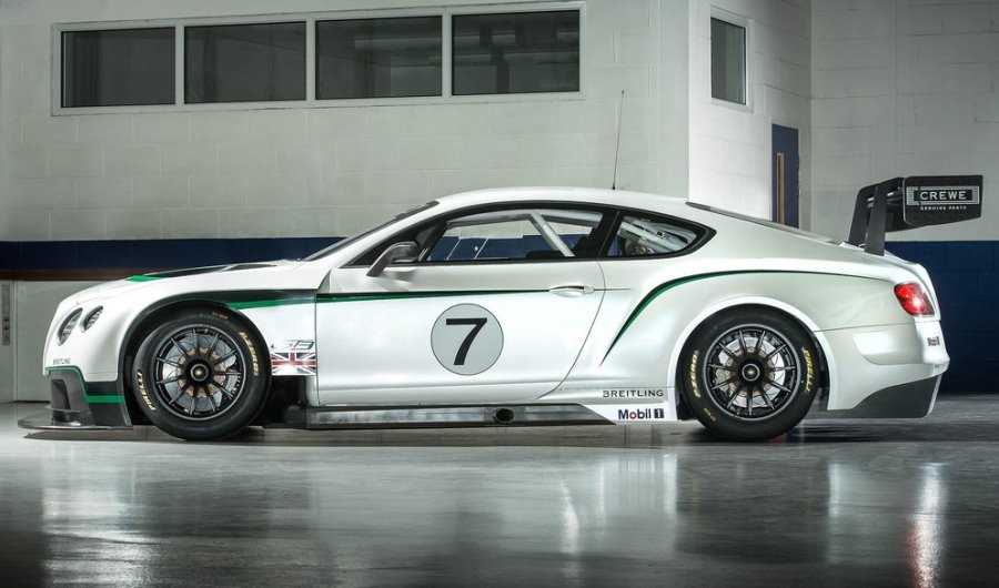 фото Bentley Continental GT3 Racecar 2014 сбоку