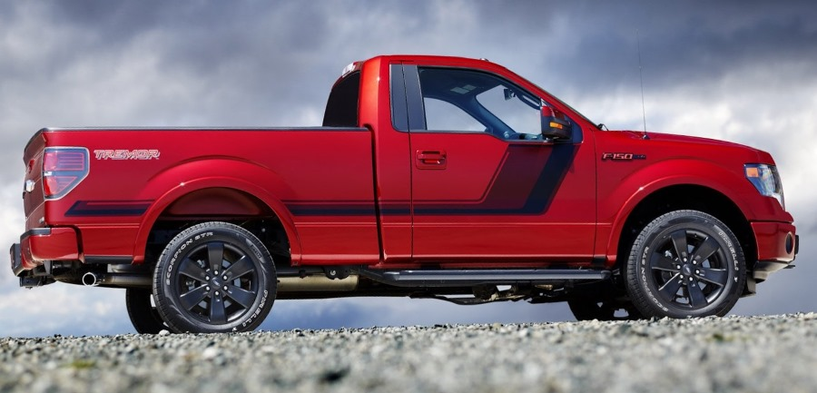 фото Ford F-150 Tremor 2014 сбоку