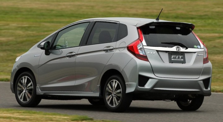 фото Honda Fit (Jazz) 2014 сбоку