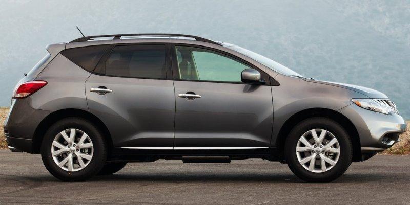 фото Nissan Murano 2013 сбоку