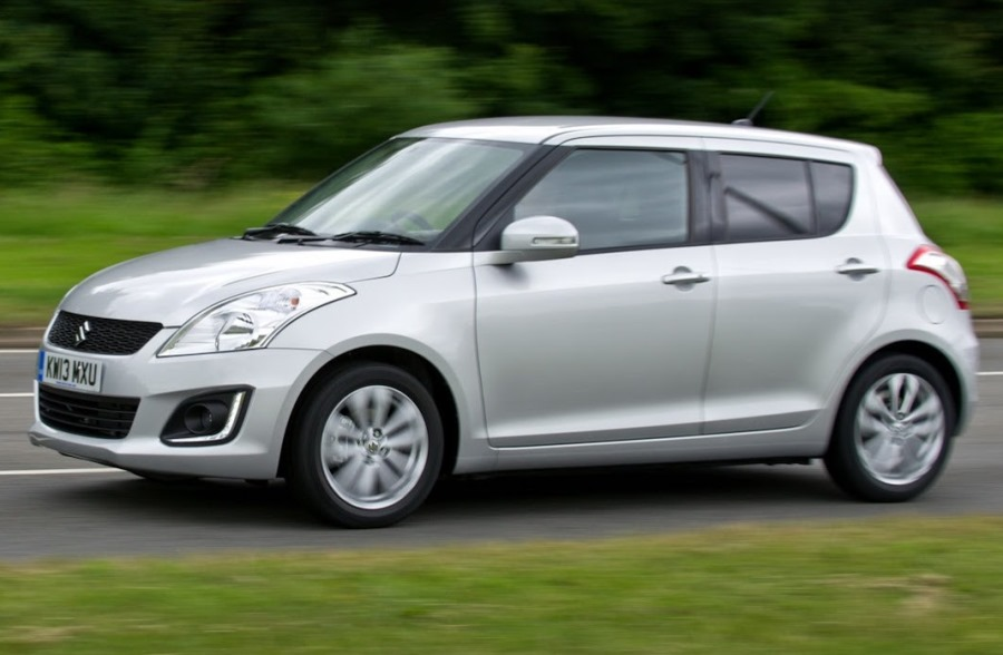 фото Suzuki Swift 2014 сбоку