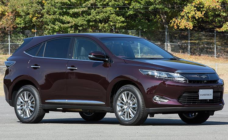 фото Toyota Harrier 2014 сбоку
