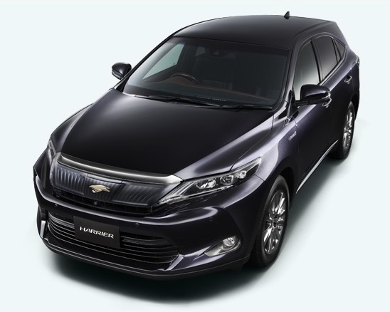 фото Toyota Harrier 2014 сверху