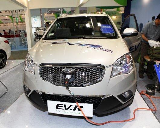 гибридный SsangYong Actyon C EV-R 2014