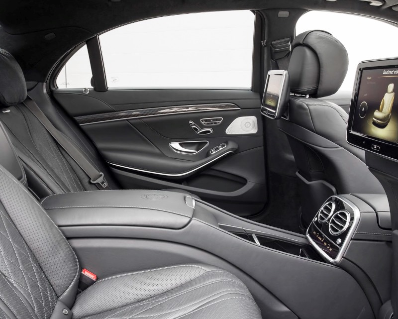 интерьер Mercedes S63 AMG 2014