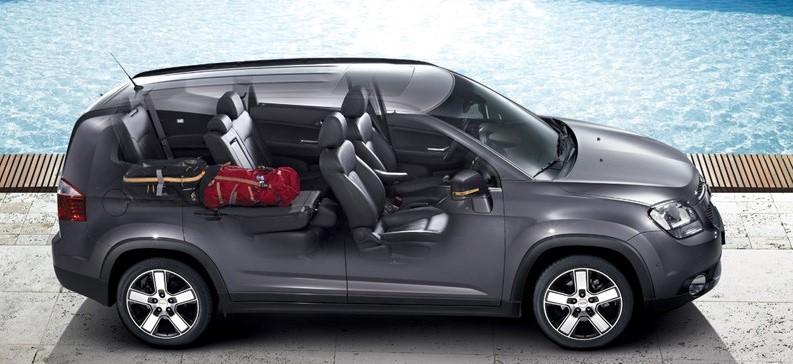 интерьер Chevrolet Orlando 2014