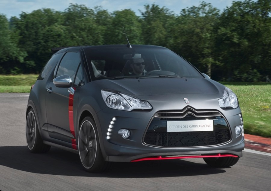 концепт Citroen DS3 Cabrio Racing 2013