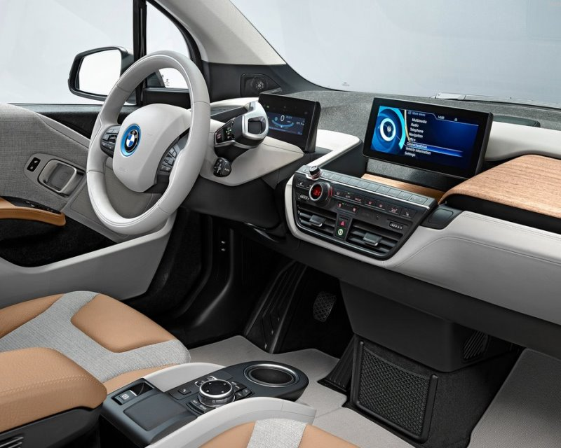 салон BMW i3