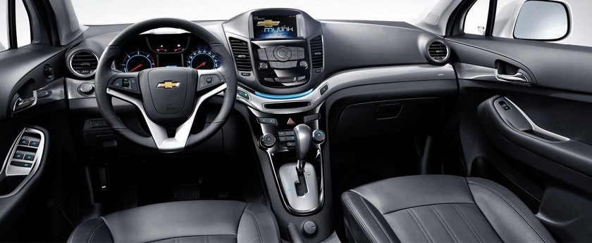 салон Chevrolet Orlando 2014