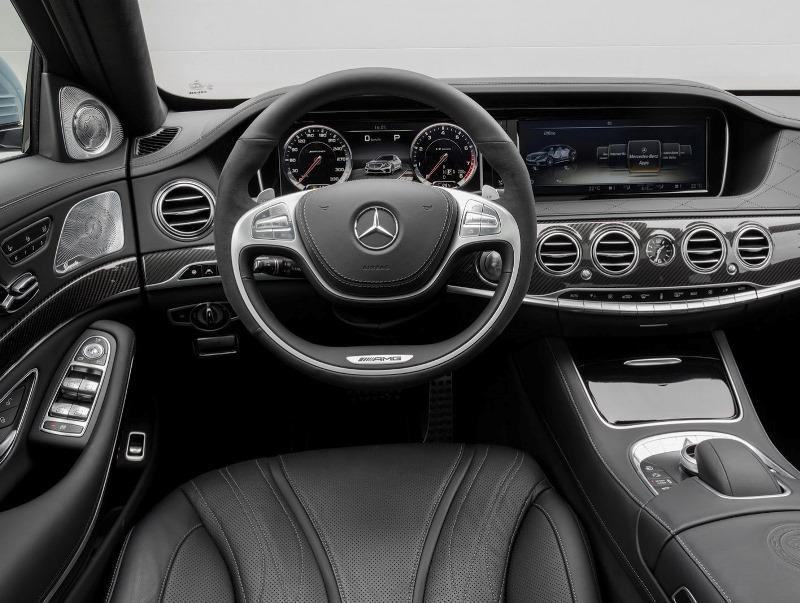 салон Mercedes S63 AMG 2014